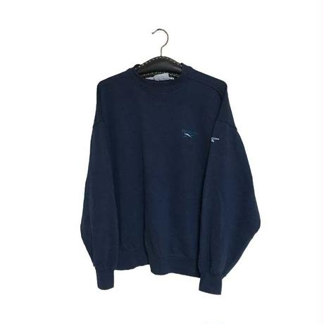 【USED】90'S REEBOK SWEATSHIRT NAVY