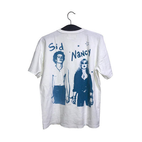 【USED】90'S REPRODUCT SEDITIONARIES TITS & SID NANCY T-SHIRT