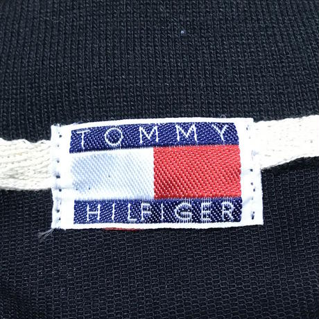 【USED】90'S BOOTLEG TOMMY HILFIGER L/S POLO SHIRT