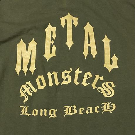 【USED】00'S LONG BEACH METAL MONSTERS T-SHIRT