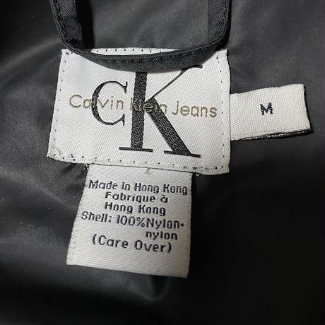 【USED】90'S CK CALVIN KLEIN JEANS RAIN COACH JACKET