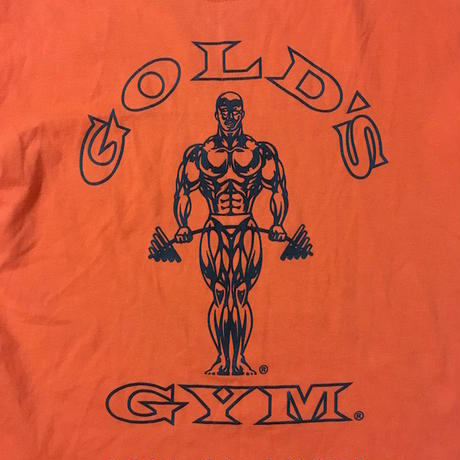 【USED】90'S GOLD'S GYM T-SHIRT