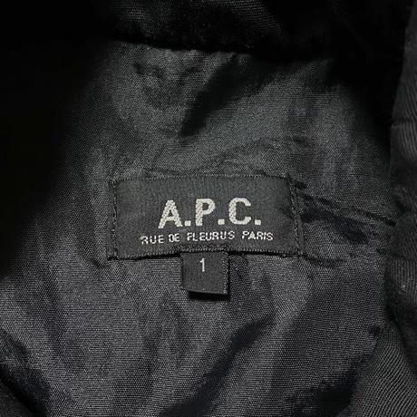 【USED】90'S A.P.C. LONG COAT