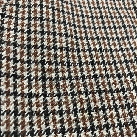 【USED】70'S CORBIN HOUNDSTOOTH WOOL TROUSERS