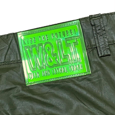 【USED】90'S W.&L.T. NYLON MOTORCYCLE PANTS