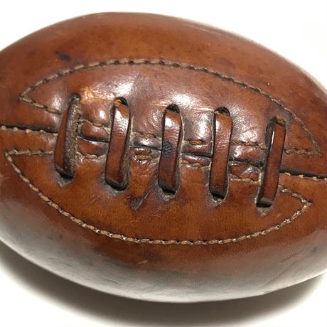 【USED】VINTAGE SCEPTRE LEATHER MINI RUGBY BALL