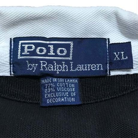 【USED】90'S POLO BY RALPH LAUREN IRON CROSS RUGER SHIRT