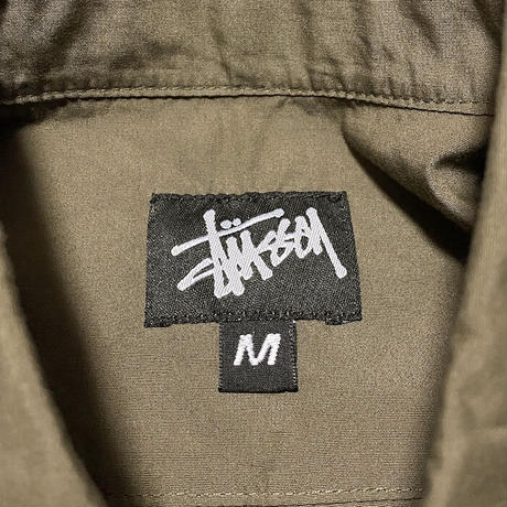 【DEAD STOCK】90'S STUSSY UNTRIMMED S/S SHIRT