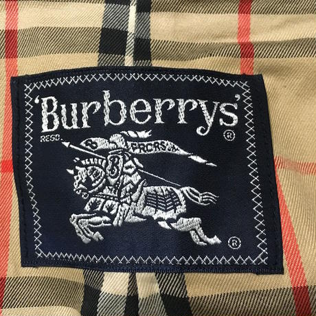 【USED】BURBERRY STAND FALL COLLAR COAT