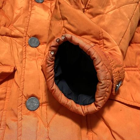 【USED】90'S ARMANI JEANS OVERSIZED QUILTED JACKET