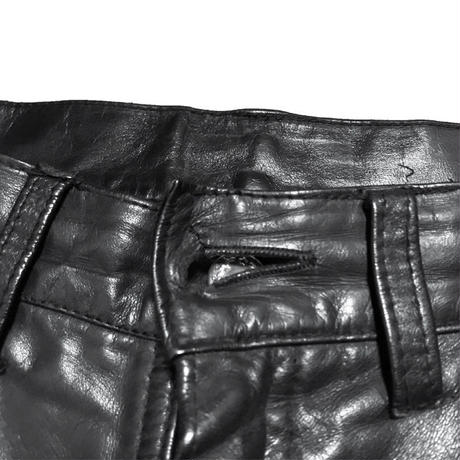 【USED】70'S LET IT ROCK LEATHER TROUSERS