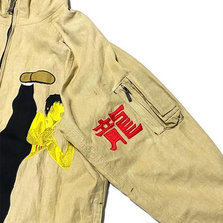 【USED】00'S MAHARISHI BRUCE LEE HEMP BOMBER JACKET