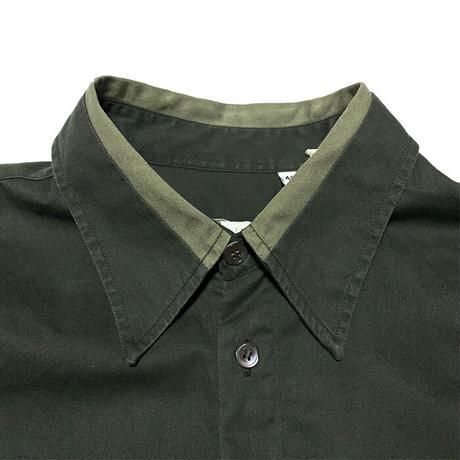 【USED】HELMUT LANG 1998 SHIRT OLIVE GREEN