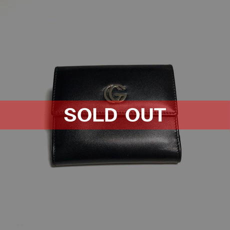 【USED】GUCCI HALF FOLD WALLET