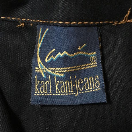 【USED】90'S KARL KANI JEANS DENIM COVERALL
