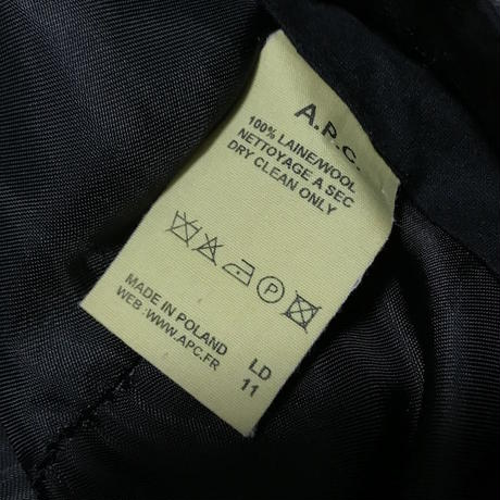 【USED】00'S A.P.C  WOOL TROUSERS