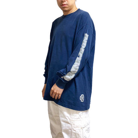 【USED】90'S-00'S INDEPENDENT TRUCK COMPANY NHS TAG L/S T-SHIRT