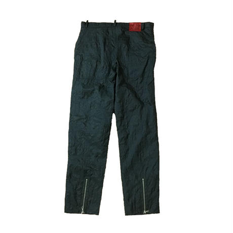 【USED】90'S W&LT CROCODILE EMBOSSING NYLON TROUSERS