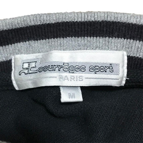【USED】90'S COURRÈGES L/S POLO-SHIRT