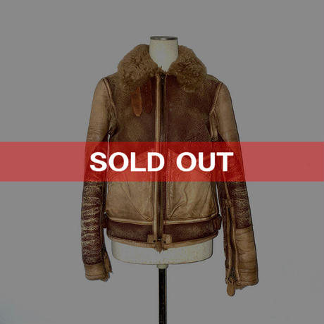 【USED】POLO RALPH LAUREN SHEARLING BOMBER JACKET