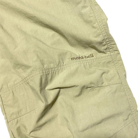 【USED】00'S MONT-BELL CLIMBING PANTS