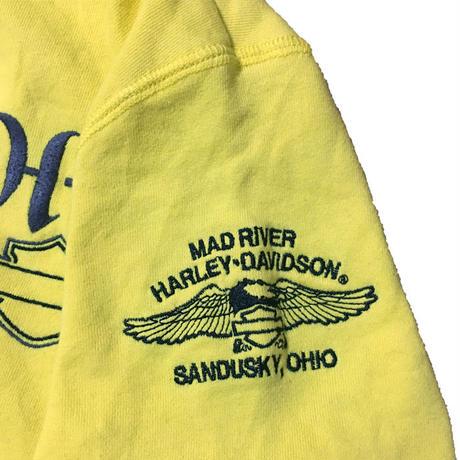 【USED】HARLEY DAVIDSON ZIP-UP SWEATSHIRT