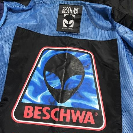 【USED】90'S BESCHWA NYLON HOODED JACKET