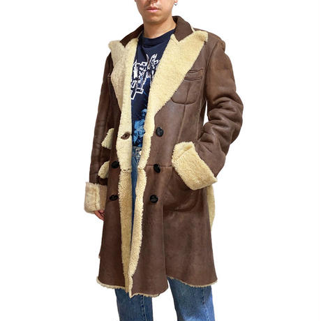 【USED】90'S  VIVIENNE WESTWOOD MAN MOUTON COAT