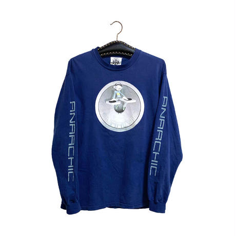 【USED】90'S ANARCHIC ADJUSTMENT TECHNO CHARACTER L/S T-SHIRT