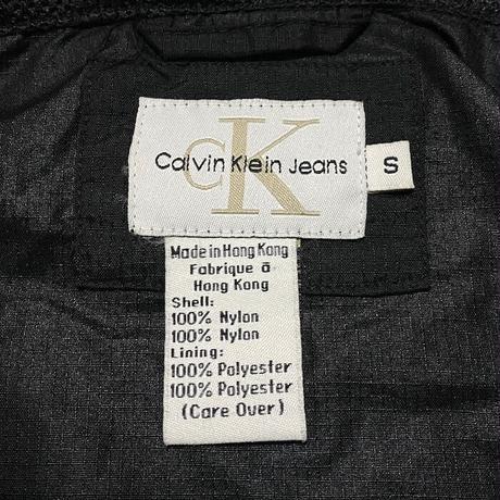 【USED】90'S-00'S CK CALVIN KLEIN JEANS RIPSTOP ANOLAK