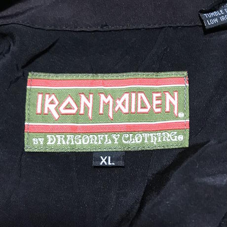 【USED】90'S OVERSIZED IRON MAIDEN ALOHA SHIRT