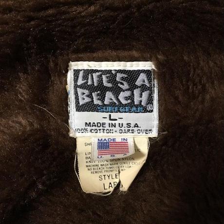【USED】80'S LIFE'S A BEACH BAD BOY CLUB COAT
