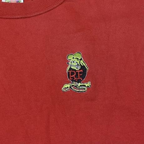 "【USED】90'S-00'S ED ROTH ""RAT FINK"" L/S T-SHIRT"