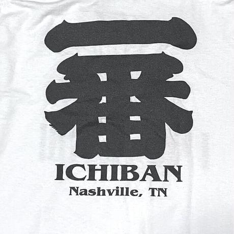 """【USED】00'S """"ICHIBAN I♡SUSHI"""" KANJI T-SHIRT"""