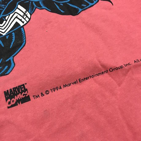 【USED】90'S MARVEL COMICS VENOM T-SHIRT