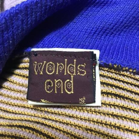 "【USED】80'S  WORLDS END ""SAVEGE"" BOOB-TUBE SWEATER"