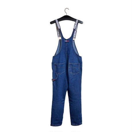 【USED】TOMMY JEANS OVERALLS FOR LADY'S