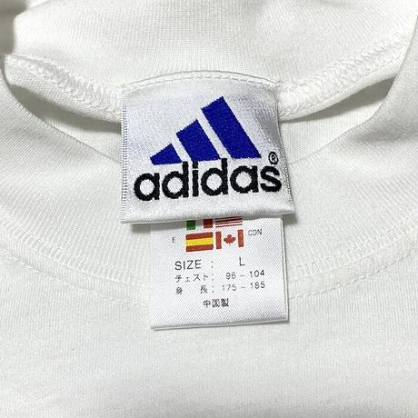【USED】00'S ADIDAS ONE POINT LOGO T-SHIRT