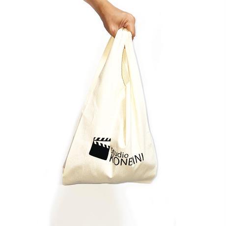 【NEW】STUDIO KONBINI MARCHE BAG with STICKERS
