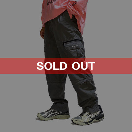 【USED】00'S CONVERSE 2-WAY CARGO PANTS