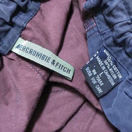 【USED】90'S ABERCROMBIE & FITCH BUGGY PANTS