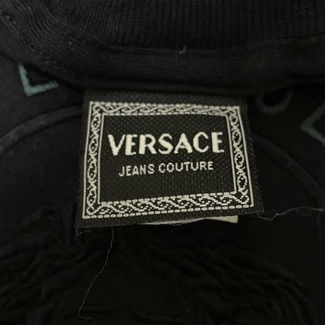 【USED】90'S BOOTLEG VERSACE JEANS COUTURE DEFORMED TOPS