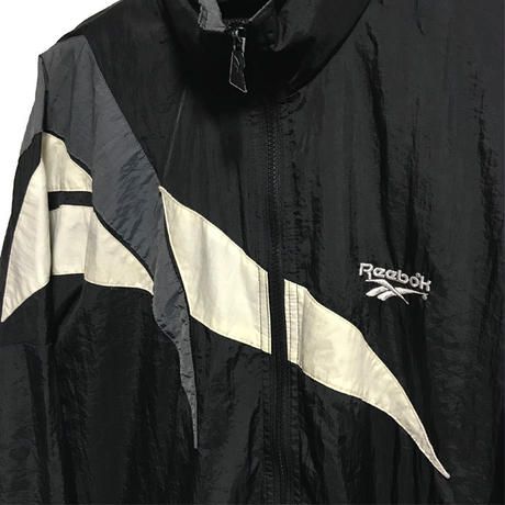 【USED】90'S REEBOK VECTOR LOGO NYLON JACKET