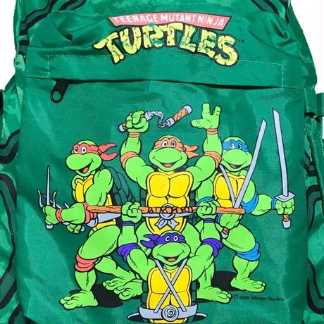 【USED】80'S NINJA TURTLES BACKPACK