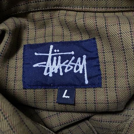 【USED】90'S  OLD STUSSY COTTON JACKET