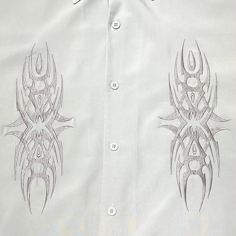 【USED】00'S DRAGONFLY TRIBAL TATOO DESIGN SHIRT