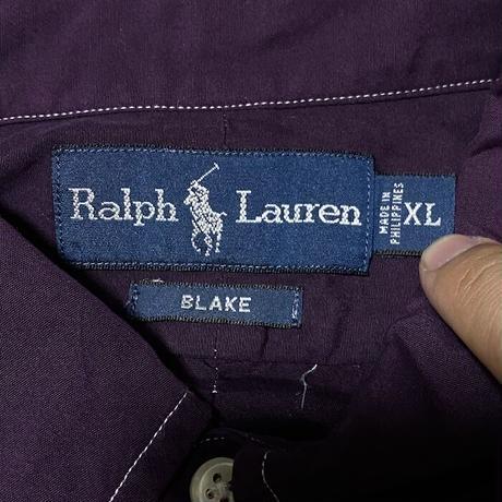 【USED】90'S RALPH LAUREN BLAKE B.D.SHIRT