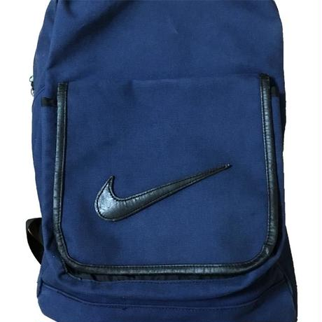 【USED】90'S NIKE LEATHER SWOOSH BACKPACK