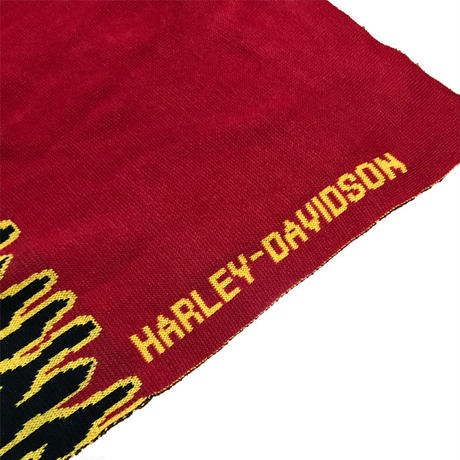 【USED】HARLEY DAVIDSON KNIT SCARF