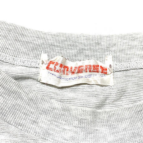 "【USED】90'S CONVERSE ""CONS"" L/S T-SHIRT"